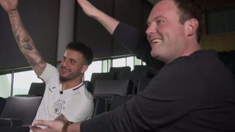 Kyle Walker Manchester City Tubes Soccer AM