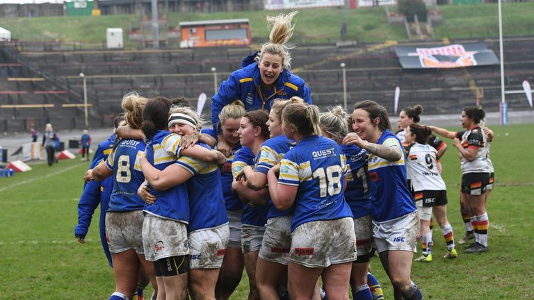 The Leeds Rhinos women's side made the perfect start to the season by beating Bradford