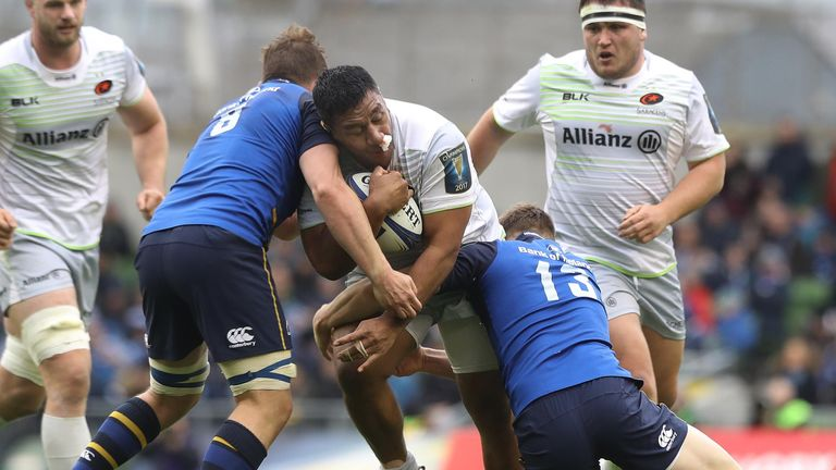 Saracens were beaten by Leinster in last season's quarter-final stage
