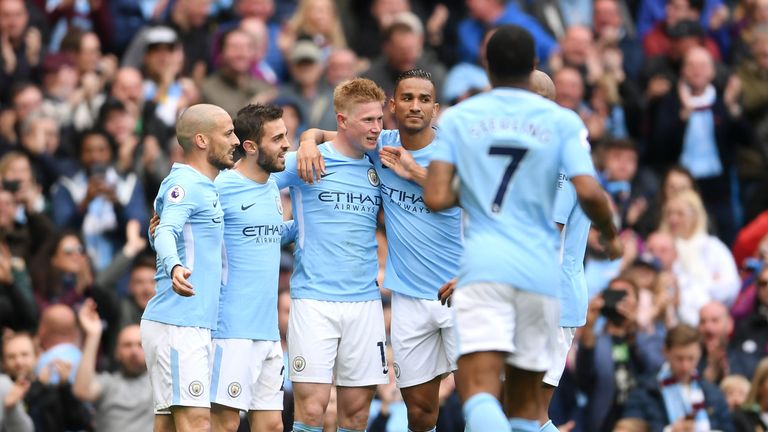 Man City have dominated matches this season through Kevin De Bruyne's passing