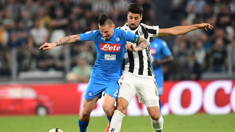 The Serie A title could be decided on goal difference