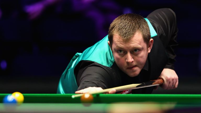 Mark Allen knocked in a seventh half-century break in his way to victory