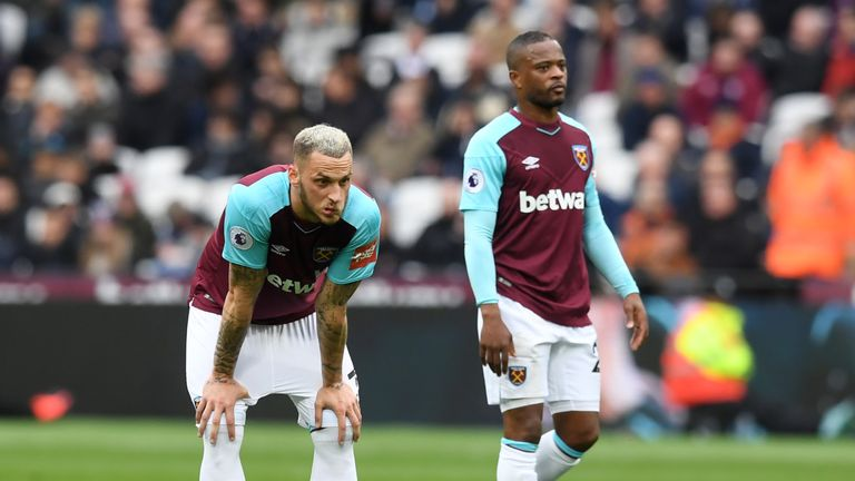 West Ham have suffered back-to-back 4-1 losses