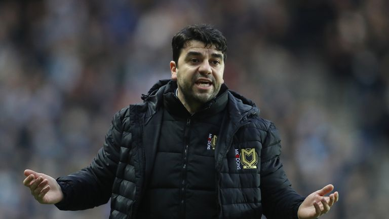 Dan Micciche was appointed as MK Dons manager in January and sacked in April