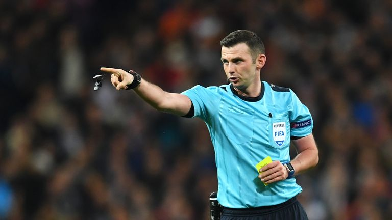 Michael Oliver admits his mistake not giving a red card for the horrific tackle on van djik