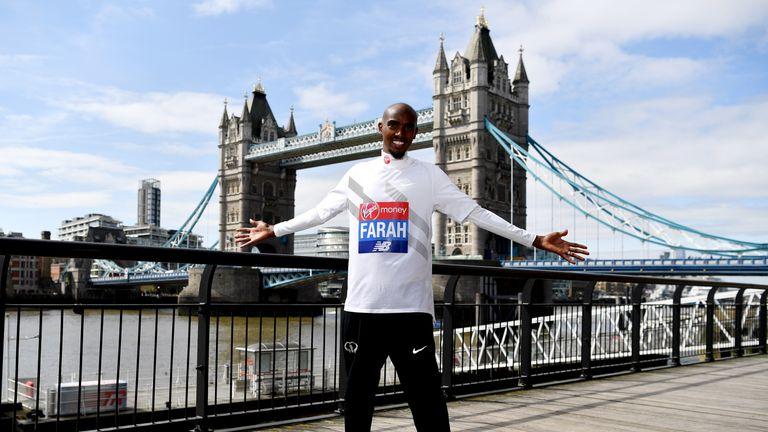 Farah retired from track running in 2017