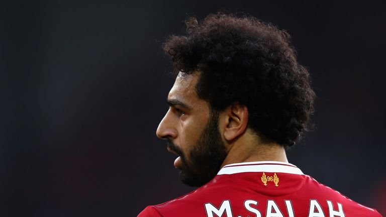 Mohamed Salah climbed into the Power Rankings' runner-up spot this week