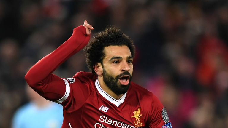Mohamed Salah will come up against former side Roma