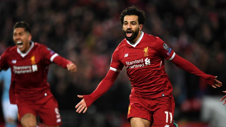 Mohamed Salah scored six times in four league games in March