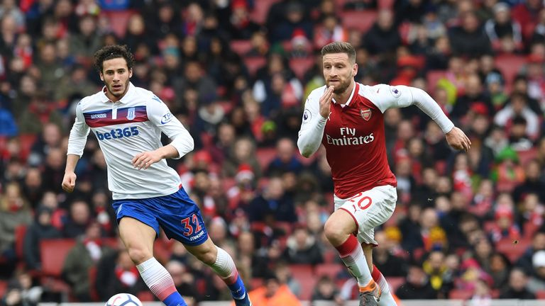 Wenger insists Mustafi can have a long future at the Emirates