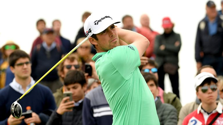 Elvira was in a share of the lead until his costly error at the 17th
