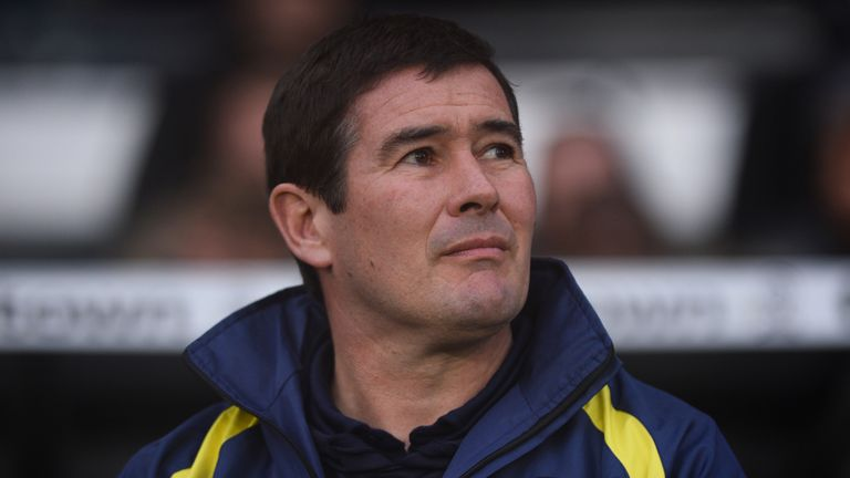 Nigel Clough, Burton manager