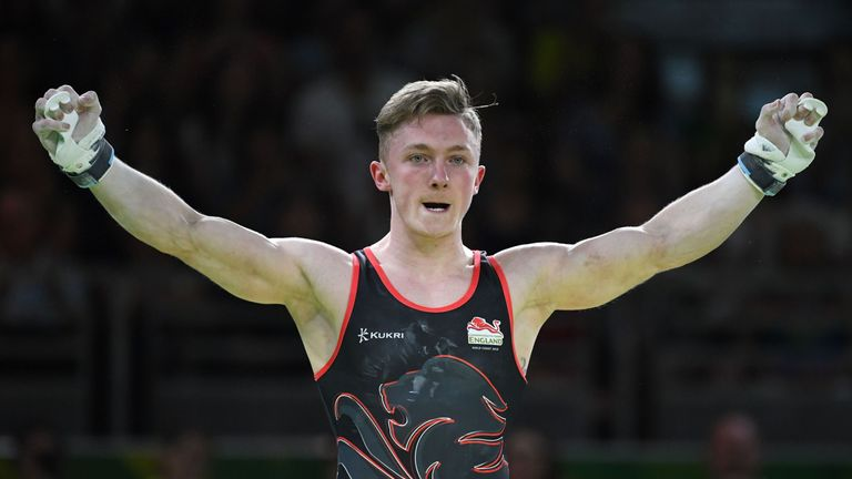 Nile Wilson has now won three gold and two silver medals at the Games