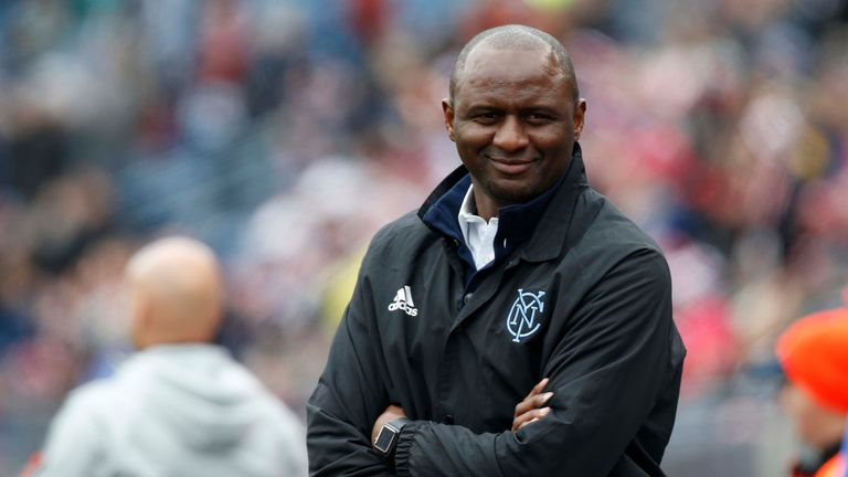Patrick Vieira has welcomed talk of a return to Arsenal as manager