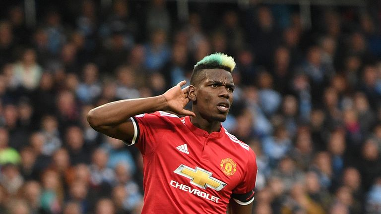 Paul Pogba silenced his critics with a two-goal salvo for Manchester United