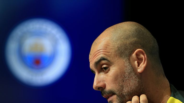Guardiola has won the Premier League title in his second season at City