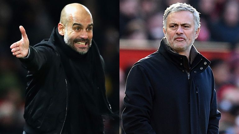Pep Guardiola and Jose Mourinho go head-to-head again on Saturday