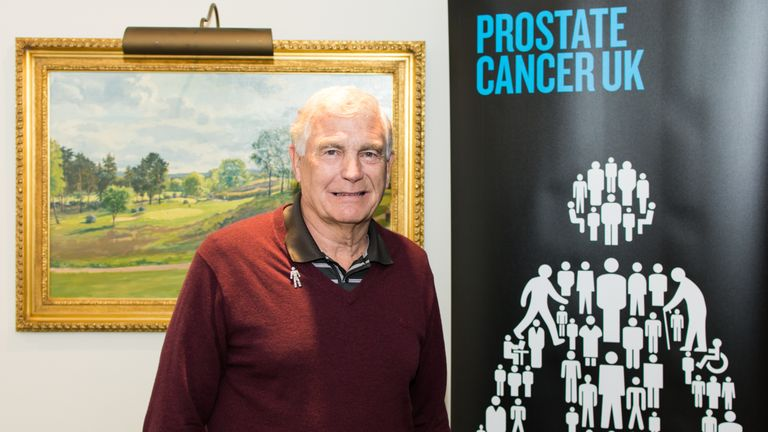 Trevor Brooking is supporting Prostate Cancer UK and the March for Men