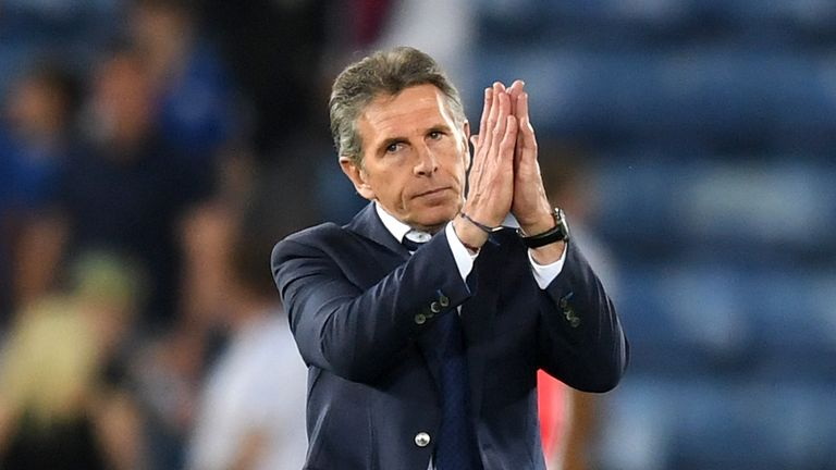 Leicester manager Claude Puel saw his side frustrated by Southampton