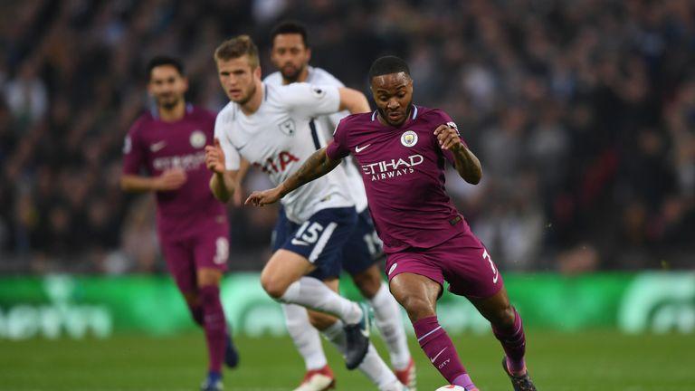 Tottenham 1 3 Manchester City Champions Elect Edge Closer To Premier League Title Football News Sky Sports