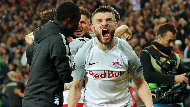 Valon Berisha has been a key player for RB Salzburg