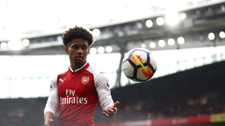 Reiss Nelson is among a number of talented young players at Arsenal