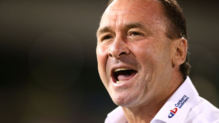 Raiders boss Ricky Stuart called his side's win over the Bulldogs 'courageous', one week after calling his squad 'soft'