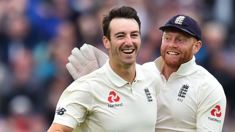 Toby Roland-Jones is another Middlesex quick hoping to regain a spot in the England Test team
