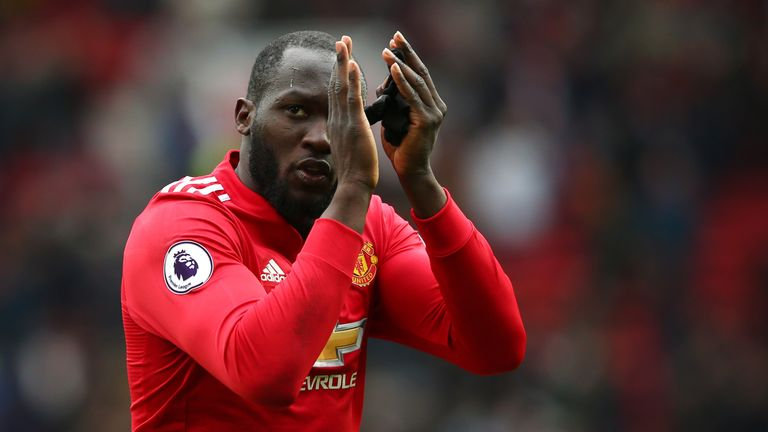 Romelu Lukaku scored in midweek