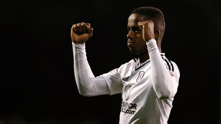 Ryan Sessegnon celebrates after Fulham's win over Leeds
