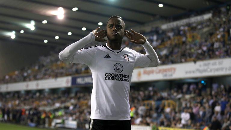 Ryan Sessegnon celebrates scoring Fulham's first goal against Millwall