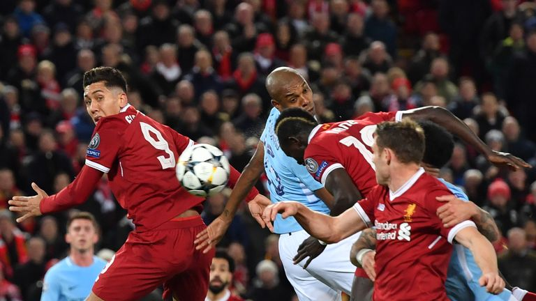 Man City were knocked out of the Champions League by Liverpool last season
