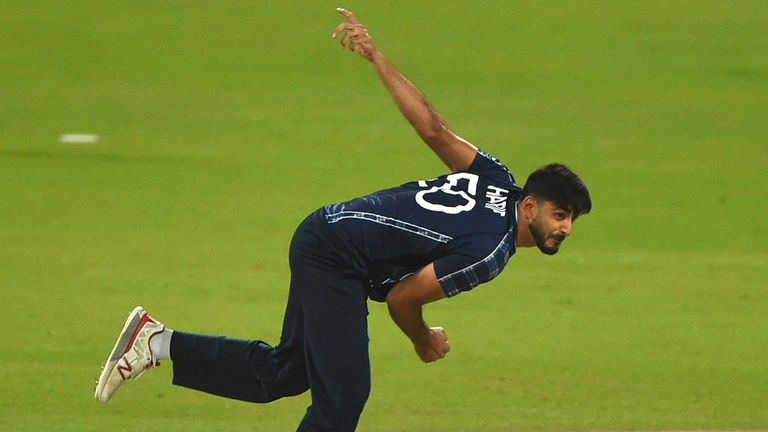 Scotland's Safyaan Sharif took 15 wickets at 14.40 in the ICC World Cup Qualifiers