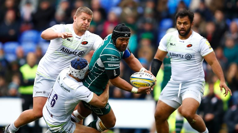 Billy Vunipola made his comeback appearance for Saracens
