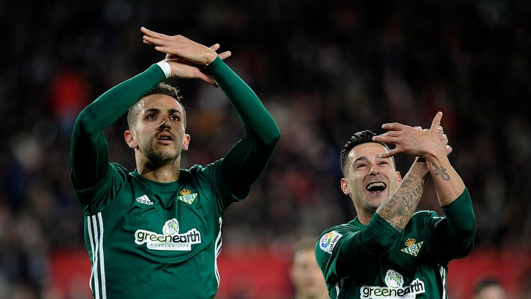 Sergio Leon hit the winner for Betis against Getafe