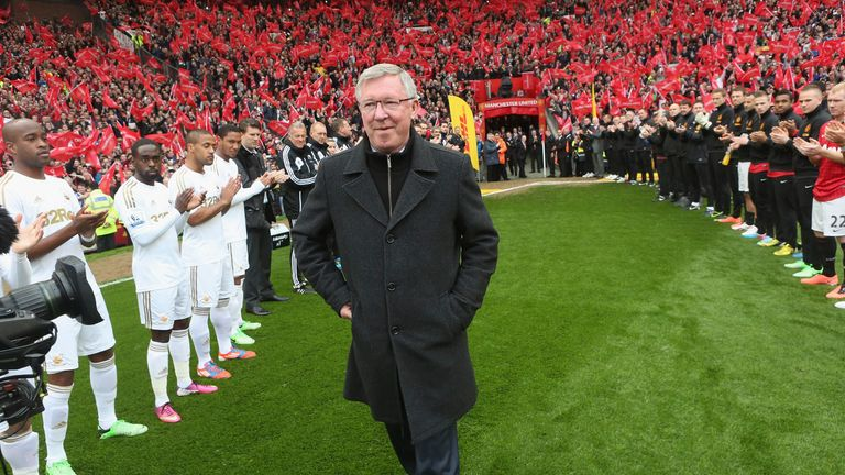 United had a big decision to make after Sir Alex Ferguson announced his retirement in 2013