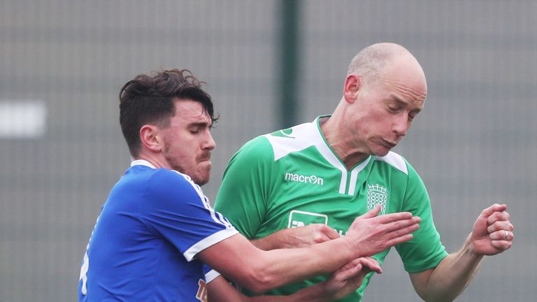 Stephen Kinnock MP was part of the UKPFC team, playing in green