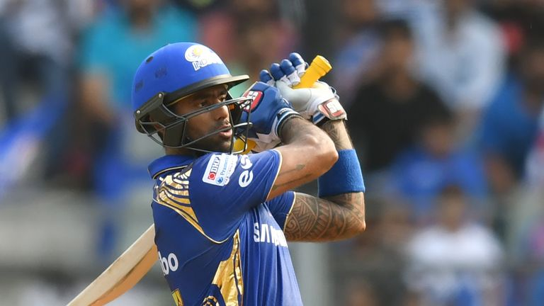 Suryakumar Yadav has impressed at the top of the order for Mumbai (Credit: AFP)