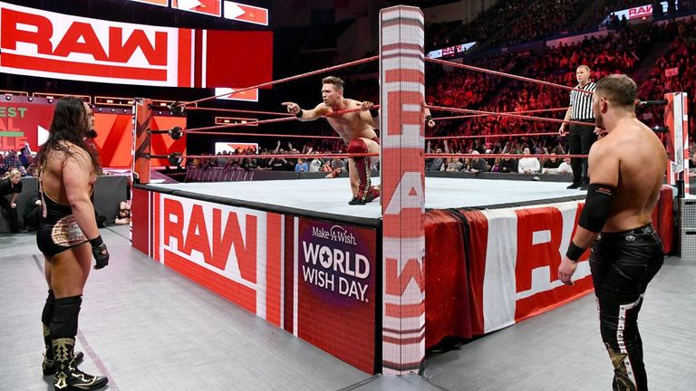The Miz's time on Raw has come to an end