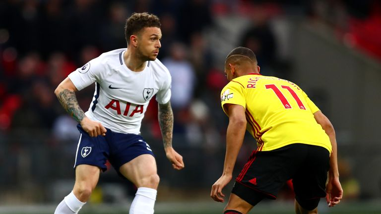 Kieran Trippier provided Spurs with numerous chances from his accurate crossing