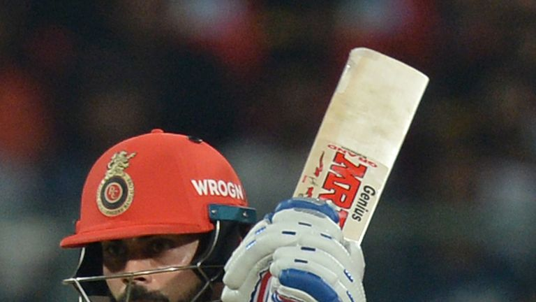 Virat Kohli struggled to help Royal Challengers Bangalore to reach the playoffs in 2018 (Credit: AFP)