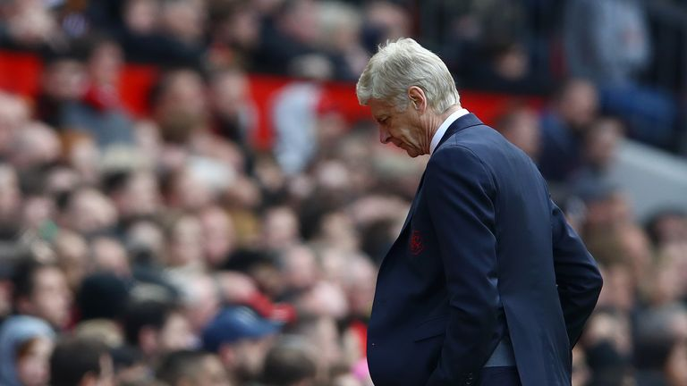 Arsene Wenger endures one more defeat at Old Trafford as Arsenal boss