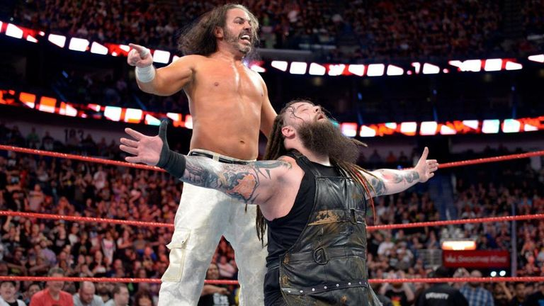 'Woken' Matt Hardy and Bray Wyatt advanced in the Raw tag team elimination tournament last week