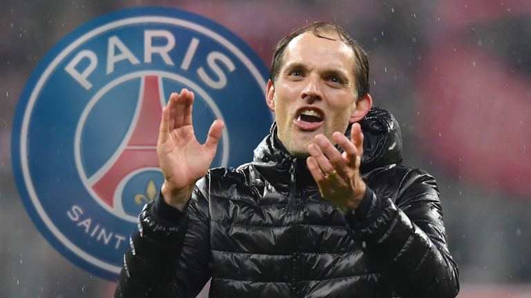Thomas Tuchel has been tipped to take over at PSG