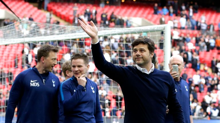 Tottenham finished third in the Premier League this season but have yet to win a trophy under Pochettino