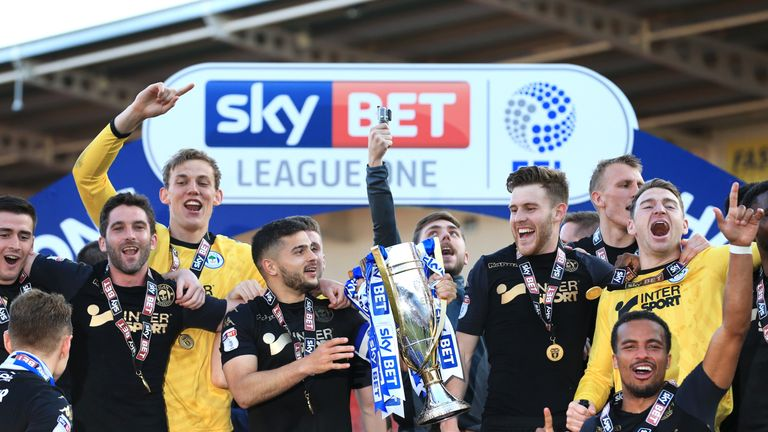 Wigan won the League One title last season