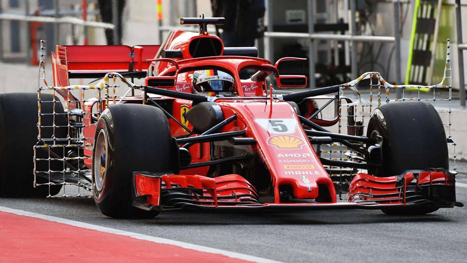 Formula 1 2019 testing at Barcelona   F1 News