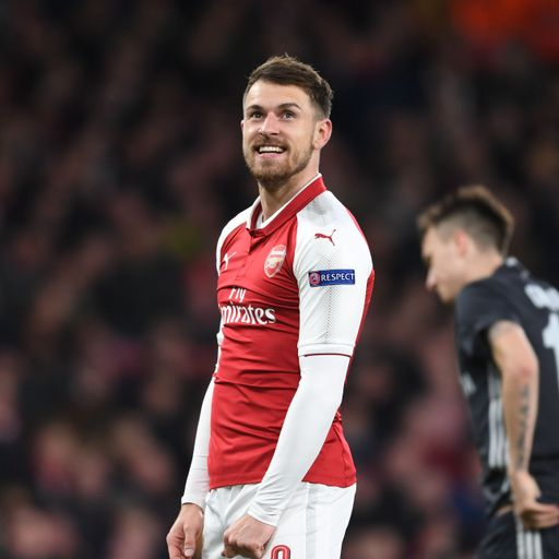 Arsenal continue Ramsey contract talks