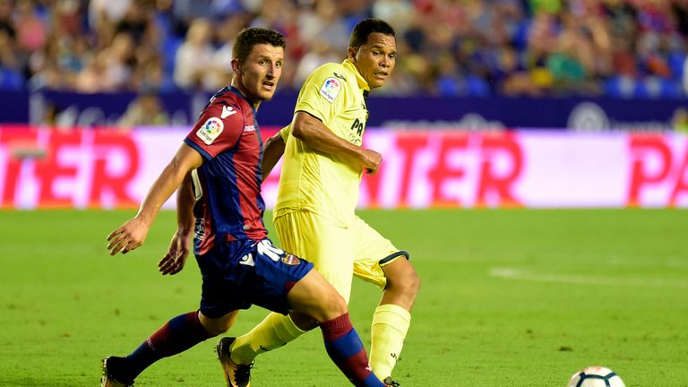 Enis Bardhi scored Levante's second goal against Leganes