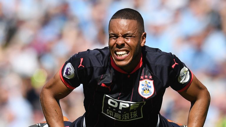 Mathias Jorgensen and the Huddersfield defence held firm at the Etihad
